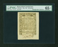 Colonial Notes:Rhode Island, Rhode Island May 1786 30s PMG Gem Uncirculated 65 EPQ....