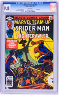 Modern Age (1980-Present):Superhero, Marvel Team-Up #89 Spider-Man and Night Crawler (Marvel, 1980) CGCNM/MT 9.8 White pages....