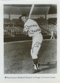 Autographs:Photos, Mickey Mantle Signed Photograph. The Mick supplies a perfect 10 /10sharpie signature to this promotional photo that bears ...
