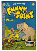 "Golden Age (1938-1955):Funny Animal, Funny Folks #25 Davis Crippen (""D"" Copy) pedigree (DC, 1950)Condition: VF/NM...."