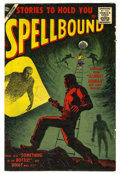 Golden Age (1938-1955):Horror, Spellbound #32 White Mountain pedigree (Atlas, 1957) Condition:FN/VF....