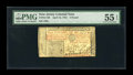 Colonial Notes:New Jersey, New Jersey April 16, 1764 £3 PMG About Uncirculated 55 EPQ....