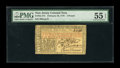 Colonial Notes:New Jersey, New Jersey February 20, 1776 £3 PMG About Uncirculated 55 EPQ....