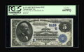 National Bank Notes:Pennsylvania, New Bloomfield, PA - $5 1882 Value Back Fr. 574 The First NB Ch. #(E)5133. ...