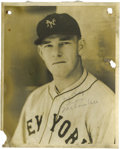 Autographs:Photos, 1930's Melvin Ott Signed Photograph by Burke. Another masterwork byGeorge Burke, whose photographs continue to escalate in...