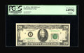 Error Notes:Major Errors, Fr. 2073-A $20 1981 Federal Reserve Note. PCGS Very Choice New64PPQ.. ...