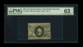 """Fractional Currency:Second Issue, Fr. 1286 Milton 2R25.3g 25¢ Second Issue Inverted """"S"""" PMG Choice Uncirculated 63...."""