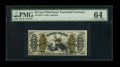 Fractional Currency:Third Issue, Fr. 1370 50c Third Issue Justice PMG Choice Uncirculated 64....
