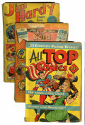 Golden Age (1938-1955):Miscellaneous, Comics - Assorted Square-Bound Golden Age Comics Group (Various Publishers, 1940s).... (Total: 7 Comic Books)
