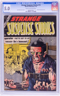 Golden Age (1938-1955):Horror, Strange Suspense Stories #19 (Charlton, 1954) CGC VG/FN 5.0 Creamto off-white pages....