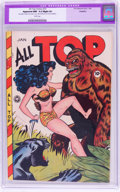 Golden Age (1938-1955):Adventure, All Top Comics #15 (Fox Features Syndicate, 1949) CGC Apparent NM- 9.2 Slight (P) White pages....