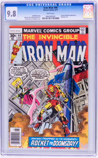 Iron Man #99 (Marvel, 1977) CGC NM/MT 9.8 White pages