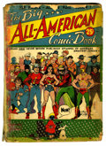 Golden Age (1938-1955):Superhero, Big All-American Comic Book #1 (DC, 1944) Condition: FR....