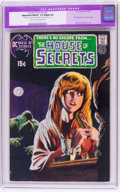 Bronze Age (1970-1979):Horror, House of Secrets #92 (DC, 1971) CGC Apparent FN/VF 7.0 Slight (A)Light tan to off-white pages....