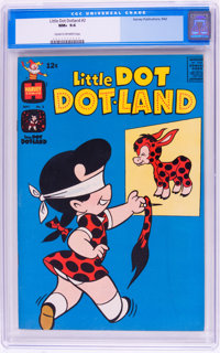 Little Dot Dotland #2 (Harvey, 1962) CGC NM+ 9.6 Cream to off-white pages