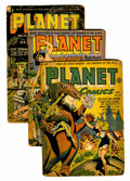 Golden Age (1938-1955):Science Fiction, Planet Comics Group (Fiction House, 1943-45) Condition: AverageFR.... (Total: 4 Comic Books)