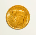 Luxembourg, Luxembourg: Grand Duke Jean gold 20 Francs 1953,...