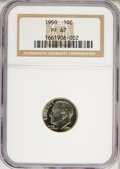 Proof Roosevelt Dimes: , 1950 10C PR67 NGC. NGC Census: (211/41). PCGS Population (206/4).Mintage: 51,386. Numismedia Wsl. Price for NGC/PCGS coin ...