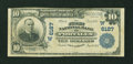 National Bank Notes:New Mexico, Portales, NM - $10 1902 Plain Back Fr. 634 The First NB Ch. # (W)6187. ...