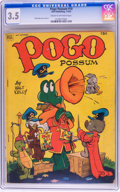 Golden Age (1938-1955):Funny Animal, Pogo Possum #10 (Dell, 1952) CGC VG- 3.5 Cream to off-white pages....
