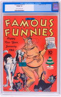 Golden Age (1938-1955):Humor, Famous Funnies #114 (Eastern Color, 1944) CGC VF/NM 9.0 Cream to off-white pages....