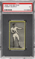 Boxing Cards:General, 1910 T226 Red Sun Tommy Murphy PSA EX 5 - Pop 1 With NoneHigher....