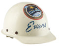 Explorers:Space Exploration, Apollo-Soyuz Test Project Hard Hat Worn by and Directly from thePersonal Collection of Mission Backup Command Module Pilot Ro...