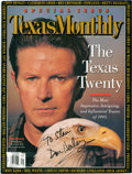 Music Memorabilia:Autographs and Signed Items, Don Henley Signed Magazine....