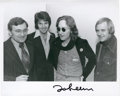 Music Memorabilia:Autographs and Signed Items, Beatles Related - John Lennon Signed Photo....