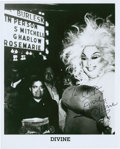 Movie/TV Memorabilia:Autographs and Signed Items, Divine Autographed Photo....
