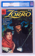 Silver Age (1956-1969):Adventure, Four Color #1037 Zorro (Dell, 1959) CGC NM- 9.2 Off-white pages....