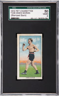 Boxing Cards:General, 1910 T229 Pet Cigarettes Owen Moran SGC 50 VG/EX 4....