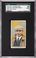 Boxing Cards:General, 1910 T229 Pet Cigarettes Walter Brookins SGC 50 VG/EX 4....
