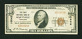 National Bank Notes:Tennessee, Maryville, TN - $10 1929 Ty. 1 The First NB Ch. # 10542. ...