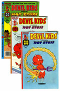 Bronze Age (1970-1979):Cartoon Character, Devil Kids Starring Hot Stuff File Copy Group (Harvey, 1976-81)Condition: Average NM-.... (Total: 28 Comic Books)