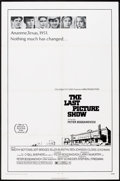 "Movie Posters:Drama, The Last Picture Show (Columbia, 1971). One Sheet (27"" X 41""). Drama.. ..."