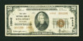 National Bank Notes:Tennessee, Kingsport, TN - $20 1929 Ty. 2 The First NB Ch. # 10842. ...