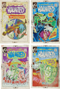 Original Comic Art:Miscellaneous, Steve Ditko, Joe Staton and Saho Kim Haunted Cover ColorGuide Production Art Group (Charlton, 1971-79).... (Total: 20Items)