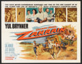 """Movie Posters:Action, Escape from Zahrain (Paramount, 1962). Half Sheet (22"""" X 28""""). Action.. ..."""