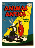Golden Age (1938-1955):Funny Animal, Animal Antics #1 Library of Congress Copy (DC, 1946) Condition:FN....