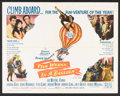 "Movie Posters:Adventure, Five Weeks in a Balloon (20th Century Fox, 1962). Half Sheet (22"" X28""). Adventure.. ..."