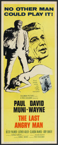 "Movie Posters:Drama, The Last Angry Man (Columbia, 1959). Insert (14"" X 36""). Drama.. ..."