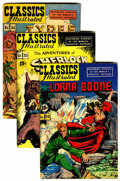 Golden Age (1938-1955):Classics Illustrated, Classics Illustrated Group with Binder (Gilberton, 1947-52)....(Total: 20 Items)