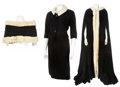 Movie/TV Memorabilia:Costumes, Three Edie Adams Pieces, Two Screen-Worn and One-Stage Worn....(Total: 4 Items)