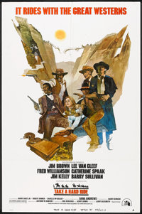 """Take a Hard Ride Lot (20th Century Fox, 1975). One Sheets (2) (27"""" X 41"""") Style A. Western. ... (Total: 2 Item..."""