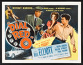 "Movie Posters:Crime, Dial Red O (Allied Artists, 1955). Half Sheet (22"" X 28"") Style A.Crime.. ..."