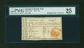 Colonial Notes:Georgia, Georgia 1776 $2 Orange Seal PMG Very Fine 25....