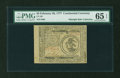 Colonial Notes:Continental Congress Issues, Continental Currency February 26, 1777 $3 PMG Gem Uncirculated 65 EPQ....