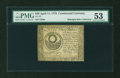 Colonial Notes:Continental Congress Issues, Continental Currency April 11, 1778 $30 PMG About Uncirculated53....