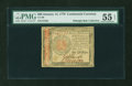 Colonial Notes:Continental Congress Issues, Continental Currency January 14, 1779 $60 PMG About Uncirculated 55EPQ....